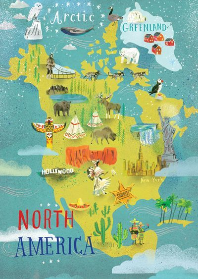 North America postcard #travelnorthamerica