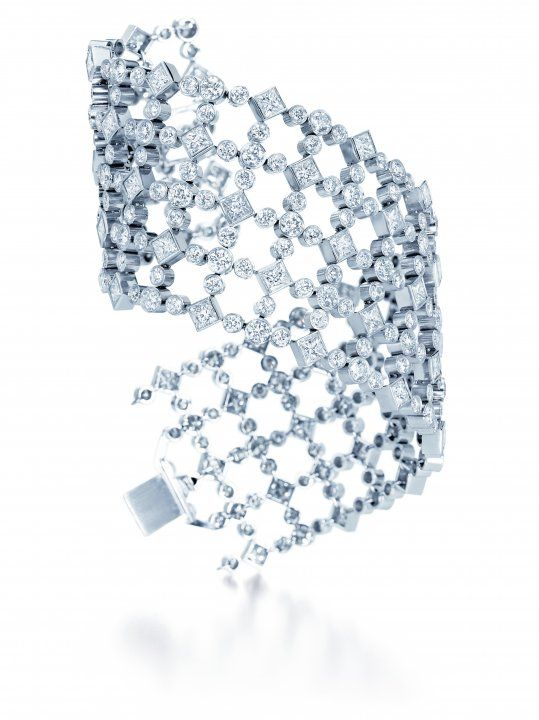 Lattice Diamond Cuff - Harry Winston