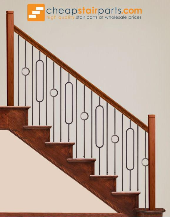 Best 16 6 2 Single Oval Hollow Stairs Design Stair Railing 400 x 300