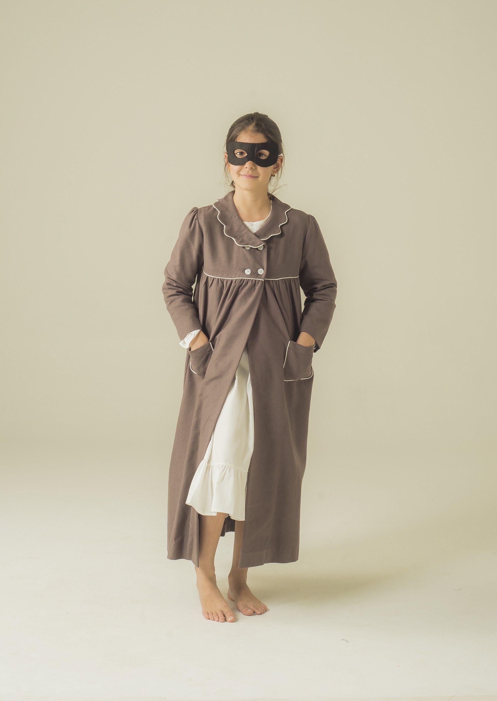 Night robe very warm for girls with cute waves collar. #pyjama ...