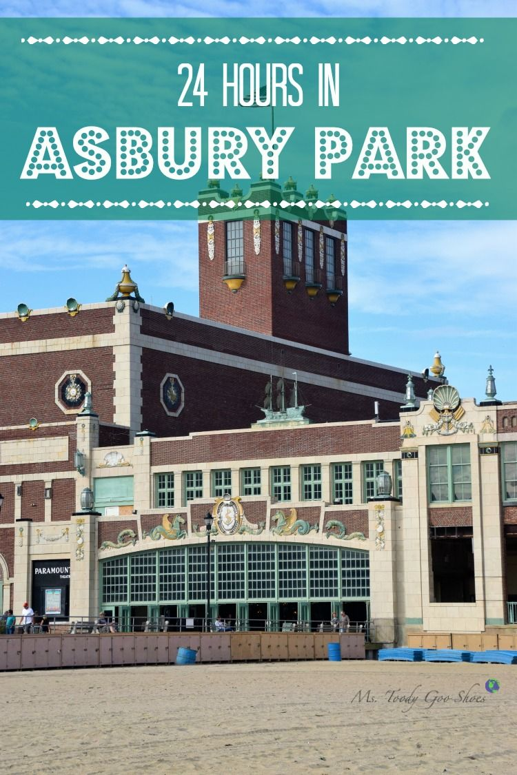 How to spend 24 Hours in Asbury Park! This classic New Jersery Shore town regularly finds itself on many of NJ's