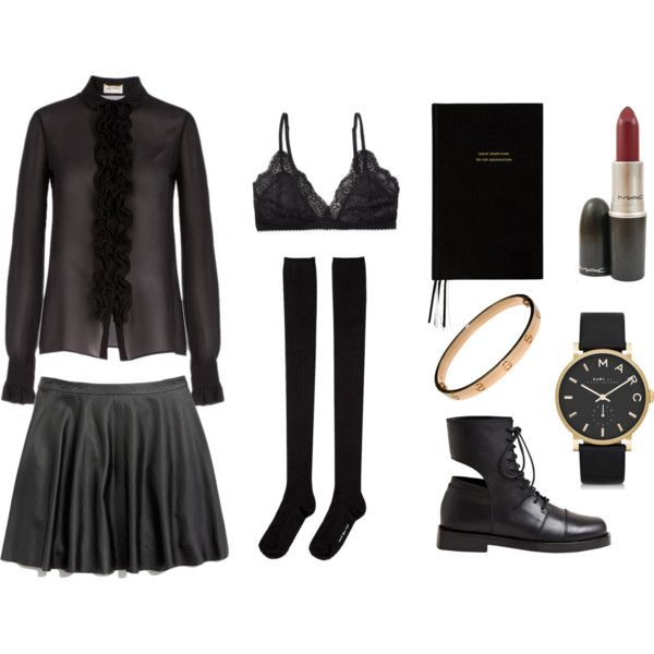 """""""black g o l d accents"""" by paigefn on Polyvore"""