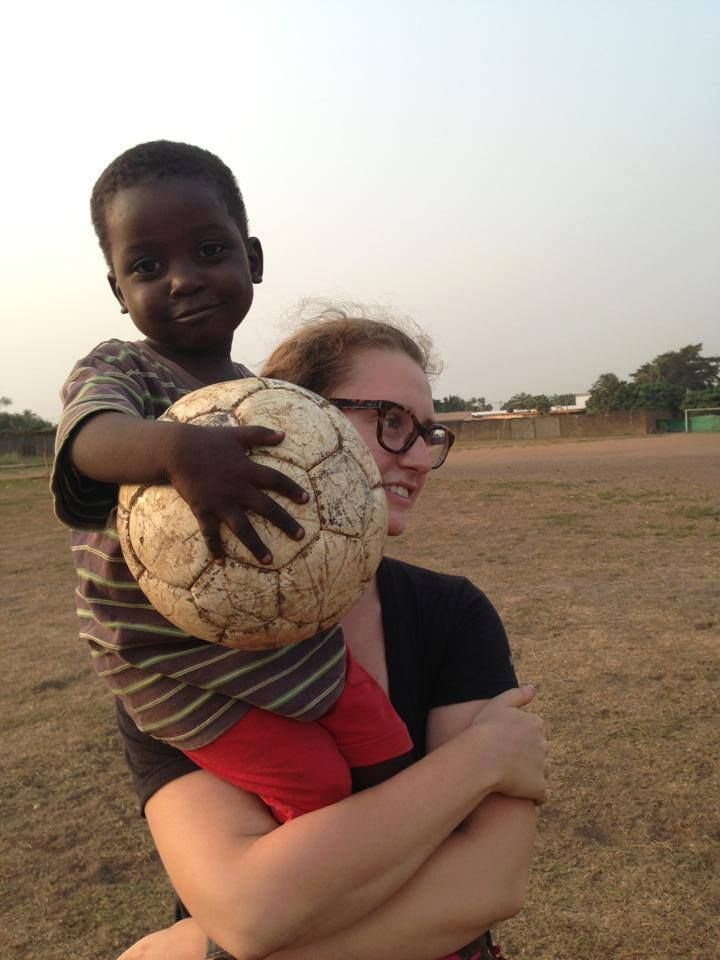 Childcare in #Togo.