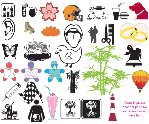 Various Vector Icon Elements Set - http://www.welovesolo.com/various-vector-icon-elements-set/