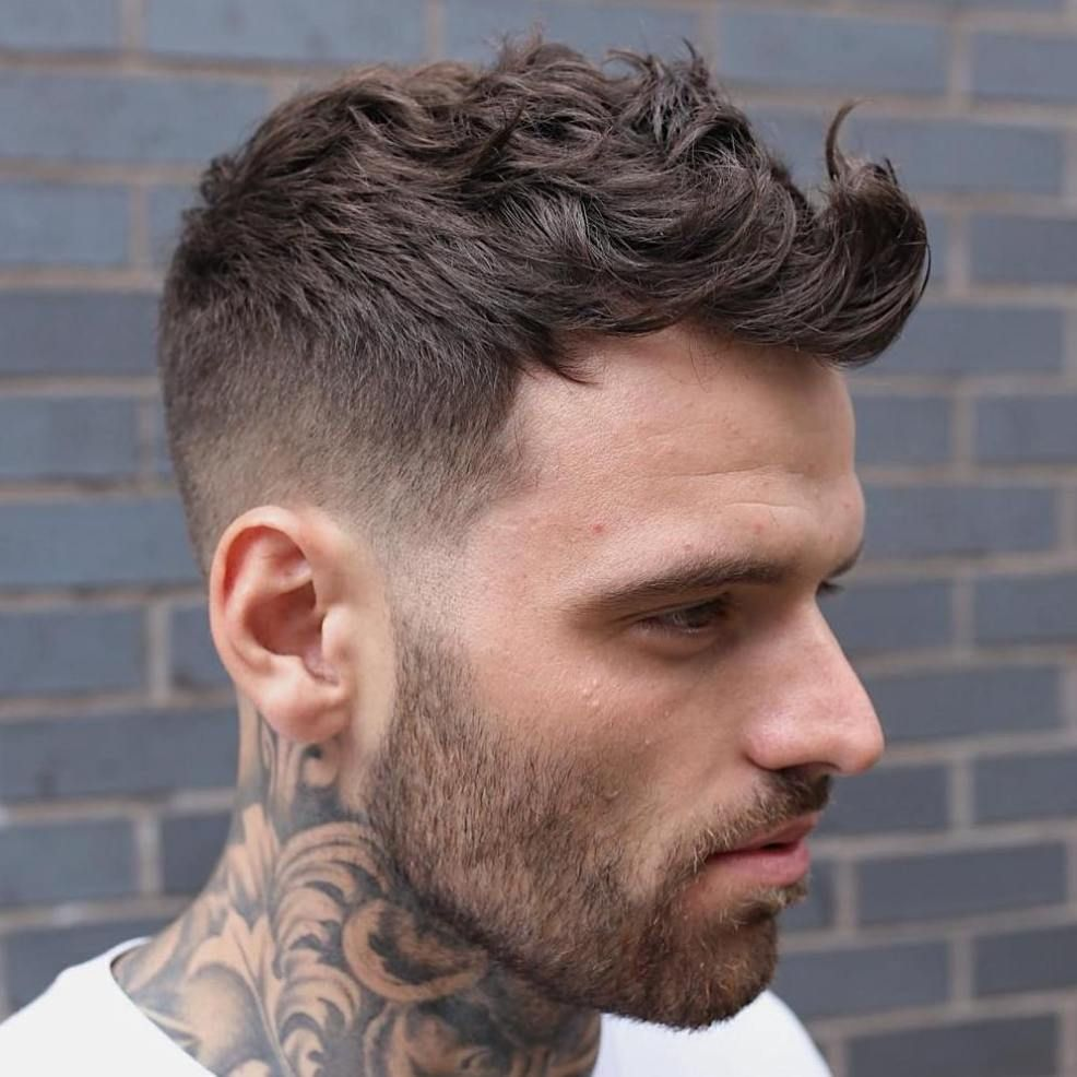 40 Best Haircuts For A Receding Hairline Wavy Hair Men Mens Haircuts Fade Mens Haircuts Short