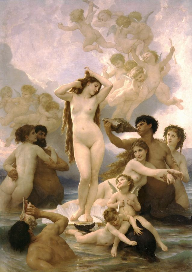 Bouguereau adolphe settings within depictions william