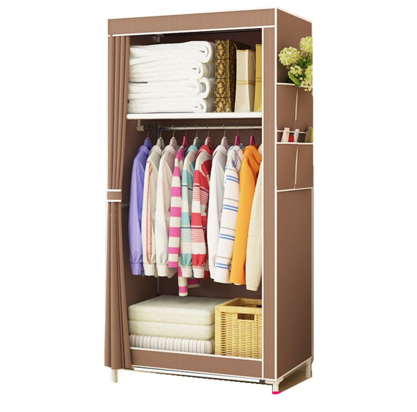 Yyfire Non Woven Diy Simple Wardrobe Closet Finishing Clothes Collection Of Toys Finishing Quilt Wardrobe Furniture Portable Closet Wardrobe Storage Cabinet