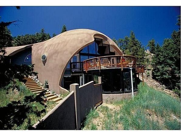 Shadow mountain dome home houses in nature pinterest for Traditionelles thai haus