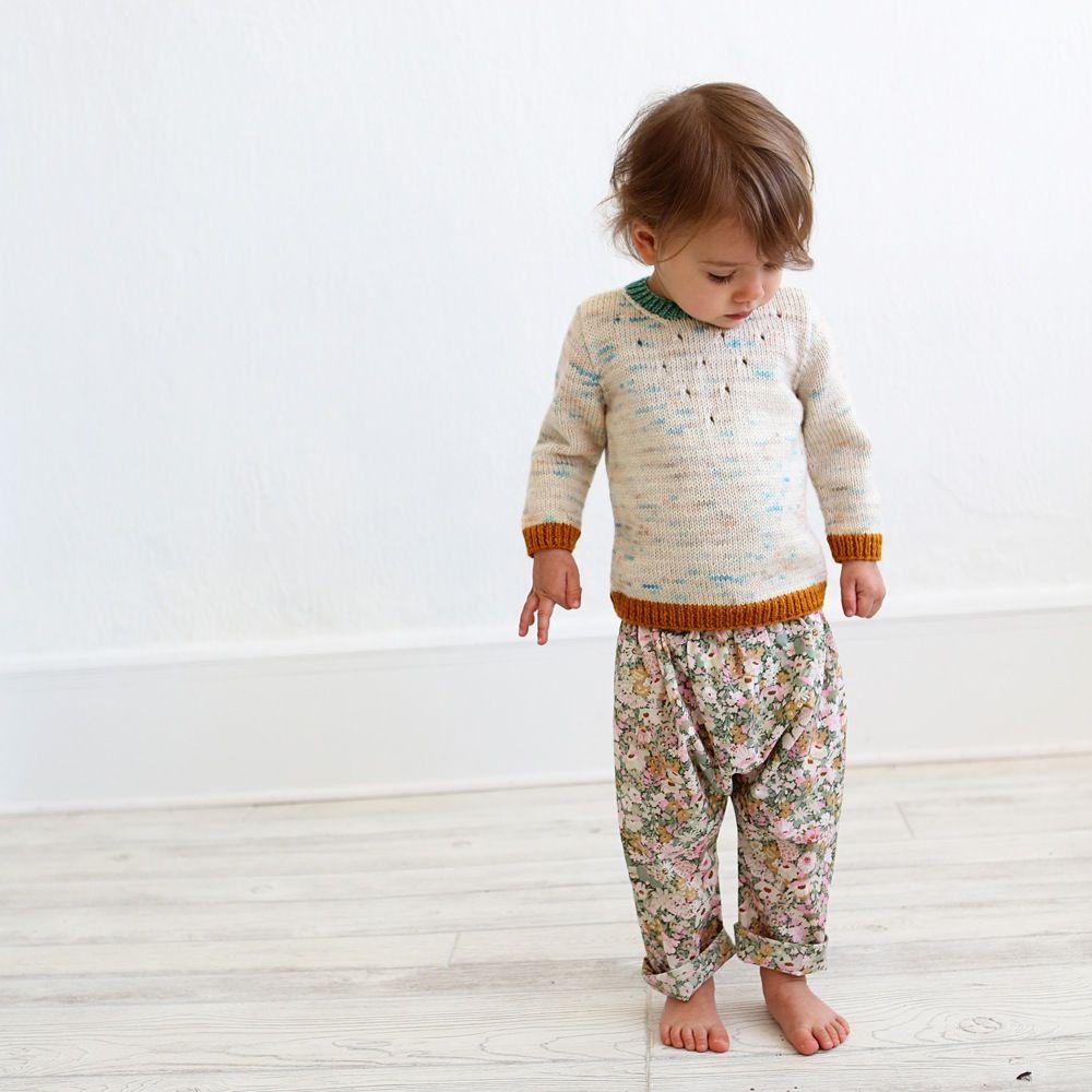 Image of Baby + Toddler Harem Pants Sewing Pattern   littles ...