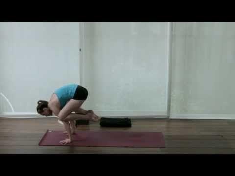 how to do crow pose crane pose with julie wilcox  yoga