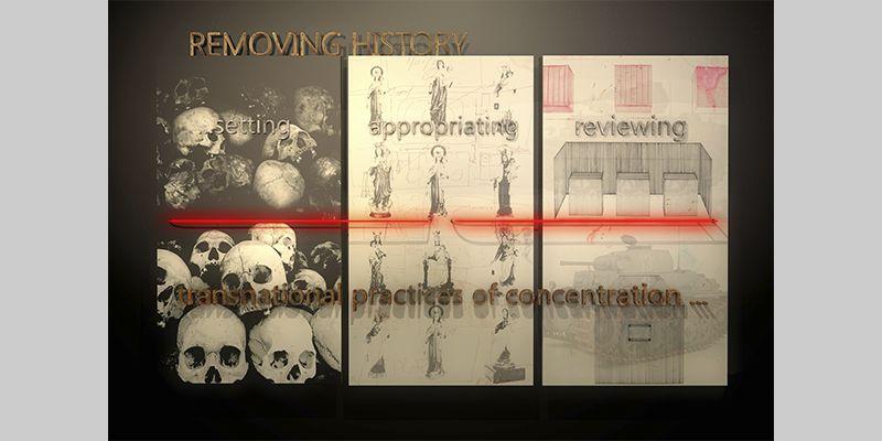 REMOVING HISTORY. YENY CASANUEVA Y ALEJANDRO GONZALEZ. PROYECTO PROCESUAL ART