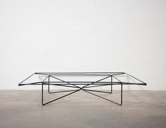 AMSTERDAM MODERN: Everything WIRE. Coffee Table