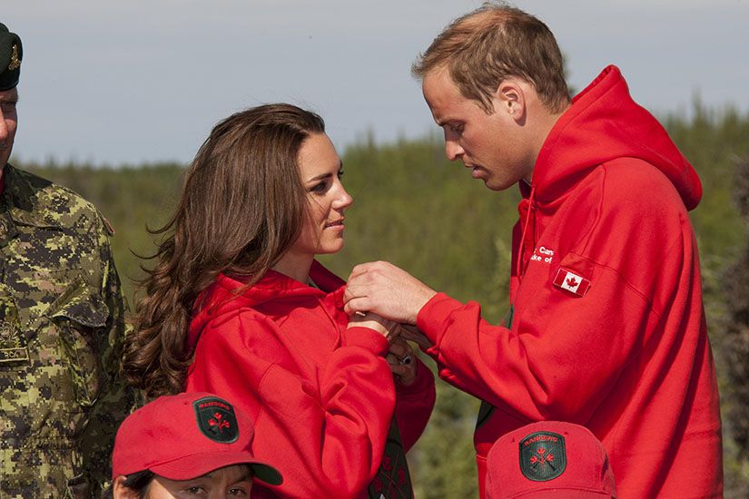 Will & Kate Canada 2011