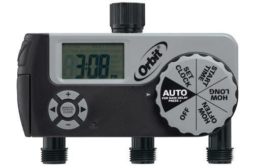 Orbit 56233d 3 Outlet Digital Watering Timer 1 Manual2 Digital