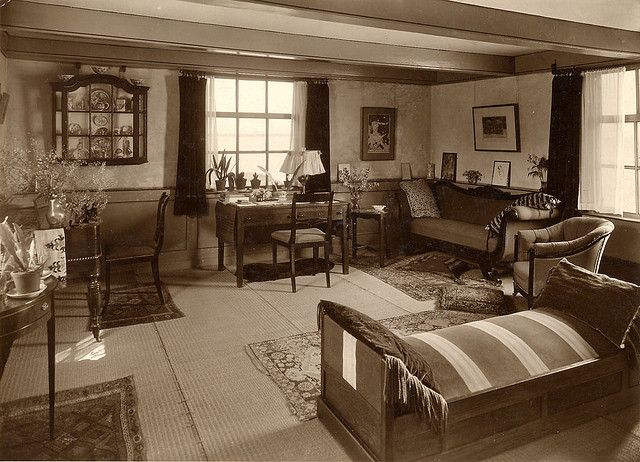 1930s Furniture Trends For Living Rooms 1930 S Veere Dijkhuis Livingroom Flickr Photo Sharing