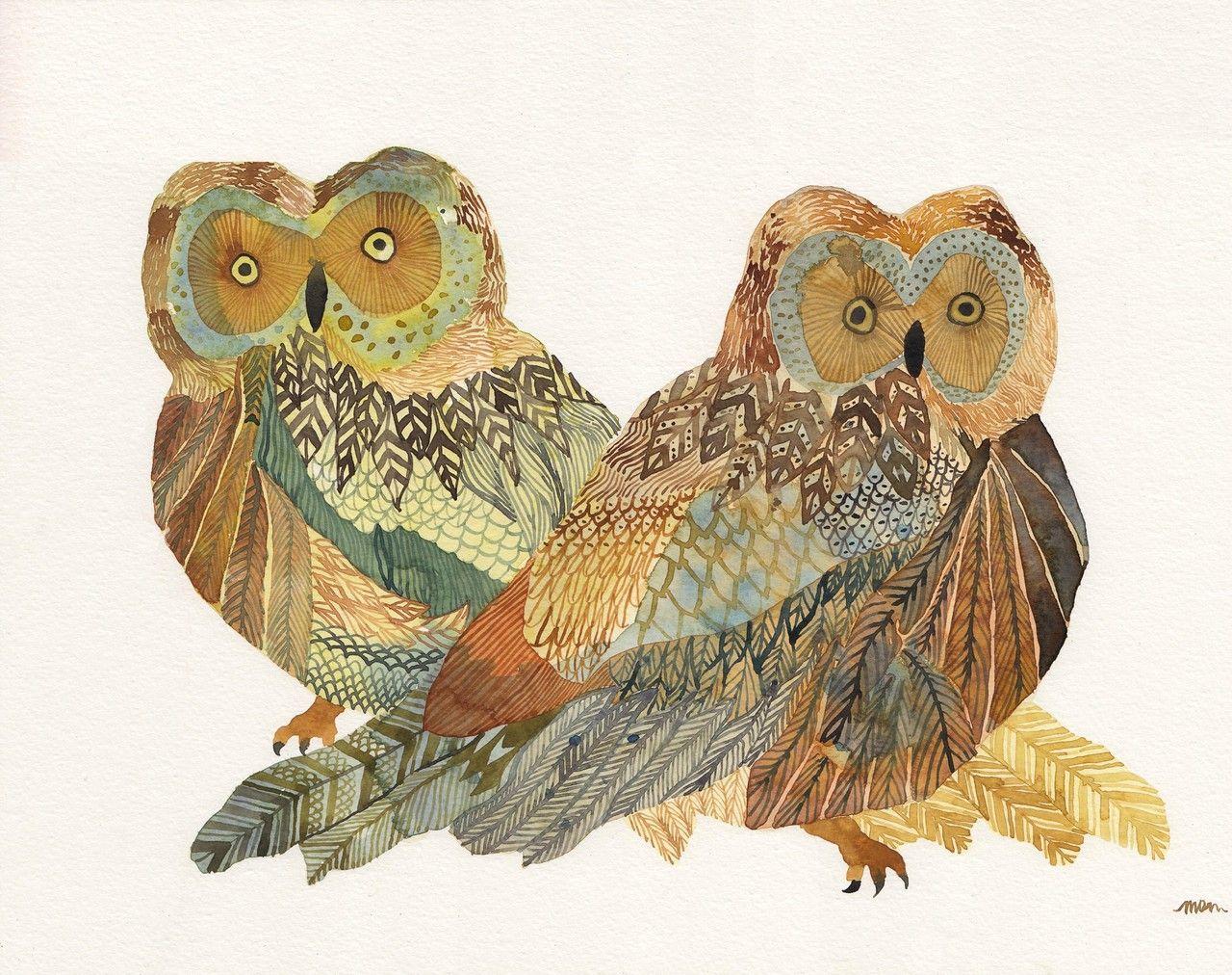 Little Owl Albrecht Durer Museum Art Print 8x11