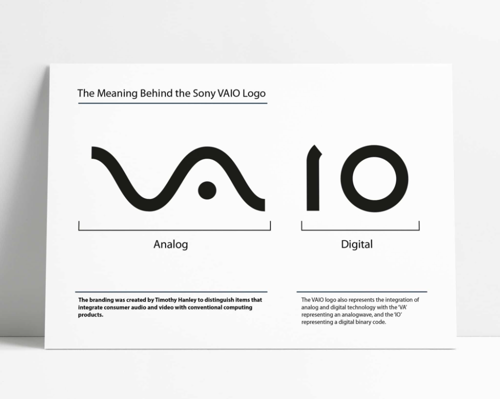 The Sony Vaio Logo The Meaning Behind the Sony's Laptop