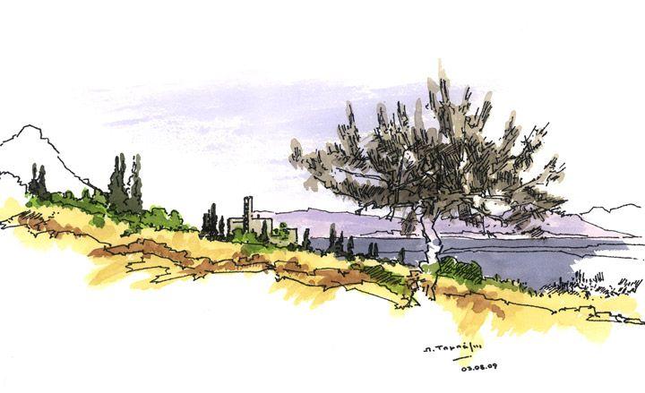 sketches by greek architect alexandros tombazis architecture wallpaper magazine