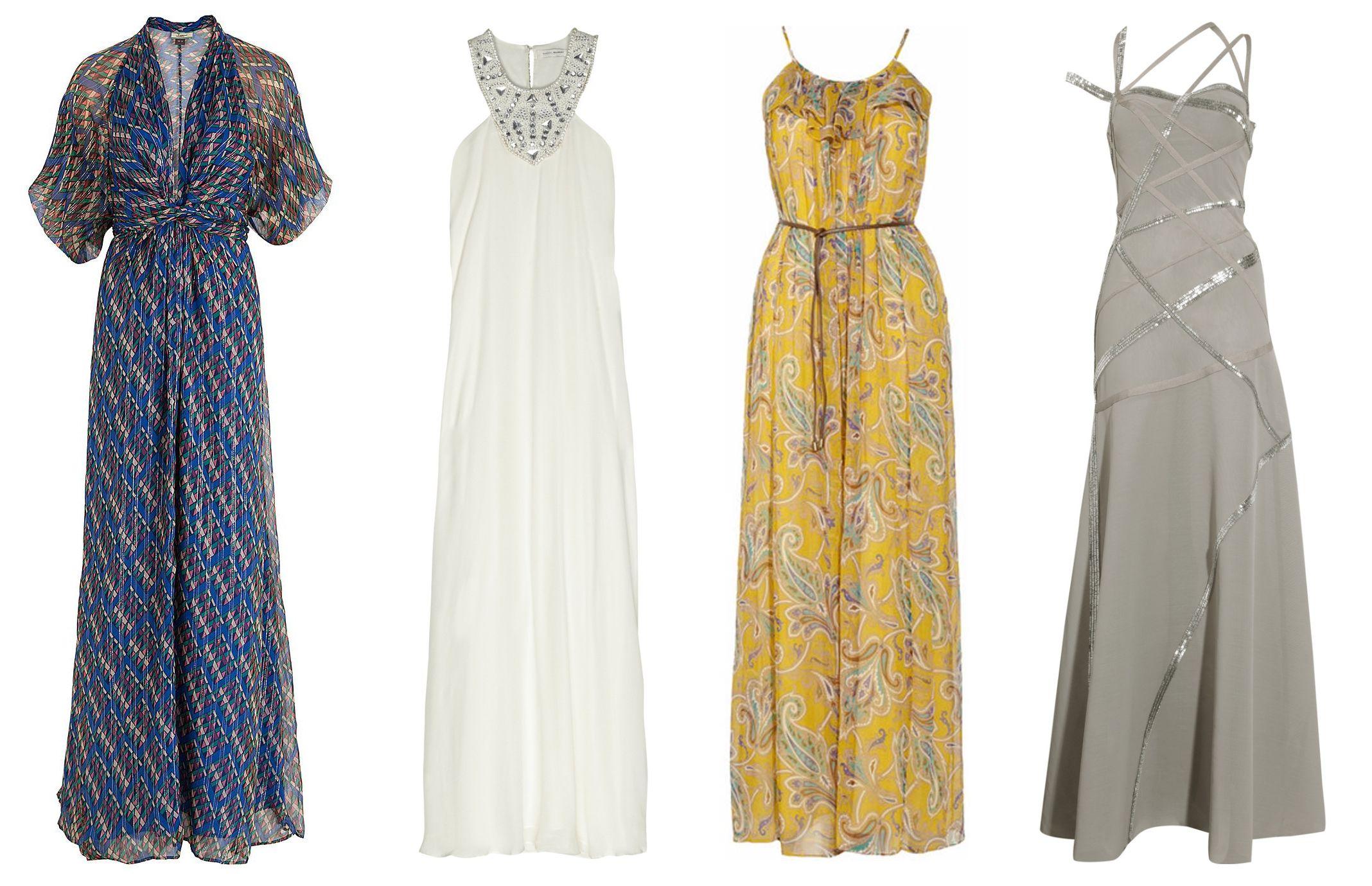 Длинные повседневные платья недорогие