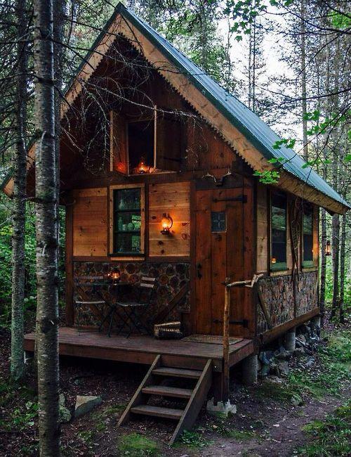 Lantern Rustic Cabin Ontario Wisconsin Tiny House Cabin Tiny