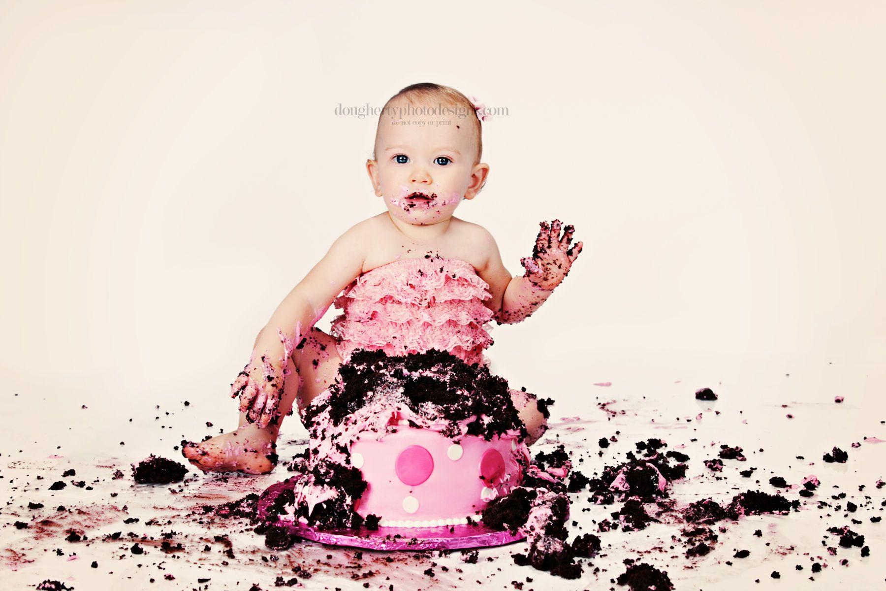 Bobby S 1st Birthday Cake Smash