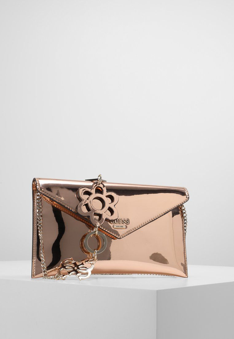 Guess SPRING FLING - Pochette - rose gold - ZALANDO.BE   posh ette 332b887ba27