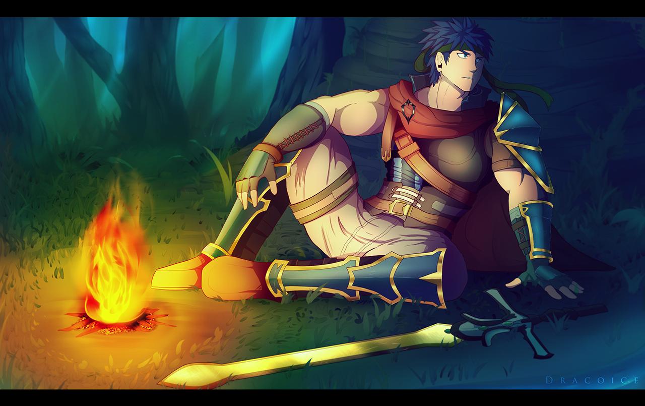 Ike By Dracoice Fire Emblem Fire Emblem Radiant Dawn Geek Culture