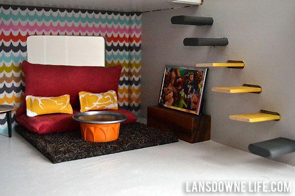 Lansdowne Life  Modern DIY dollhouse with homemade furniture  Part 1 of 6   So. Modern DIY dollhouse with homemade furniture  Part 1 of 6   Diy
