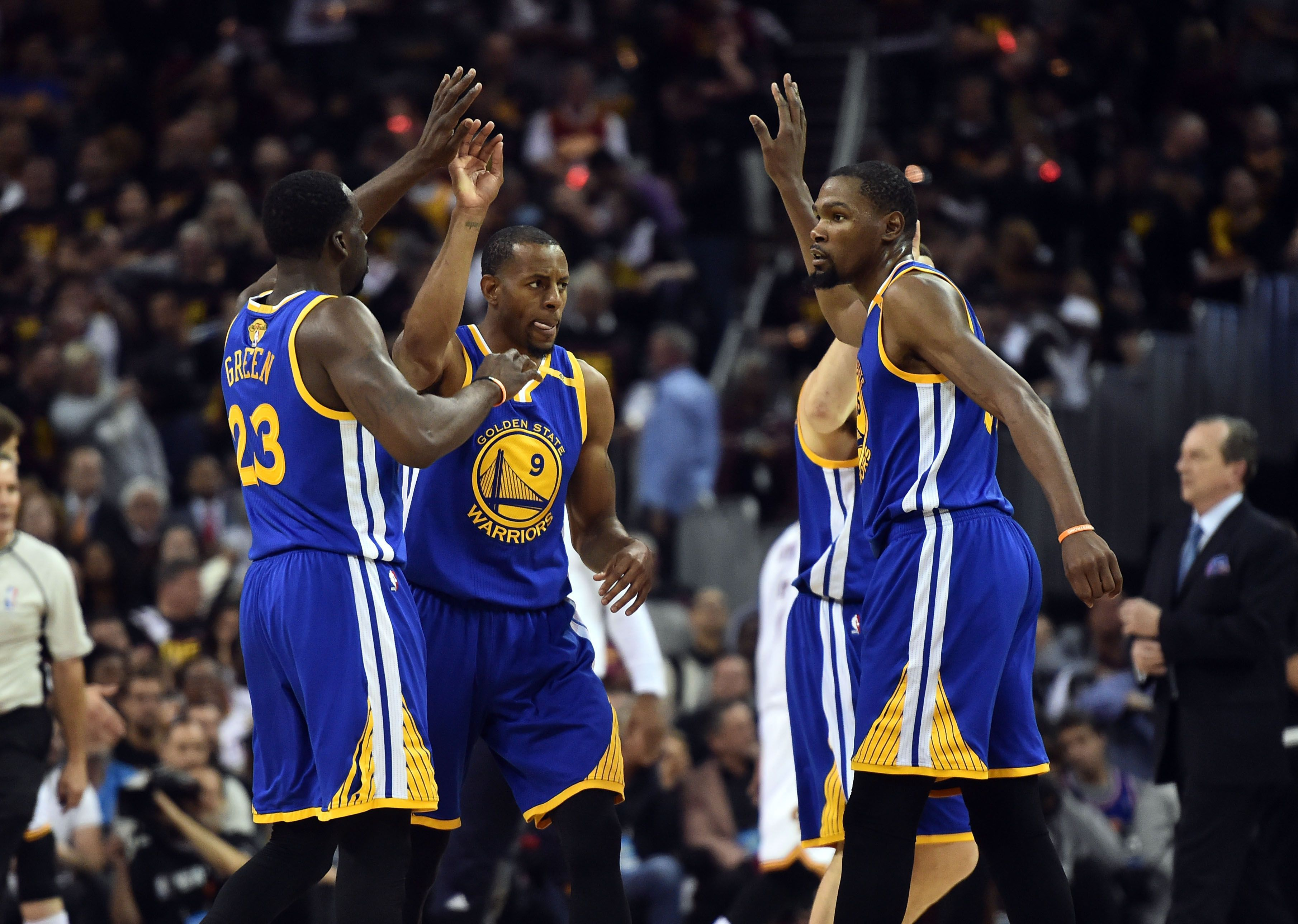 Golden State Warriors want NBA title not concerned with