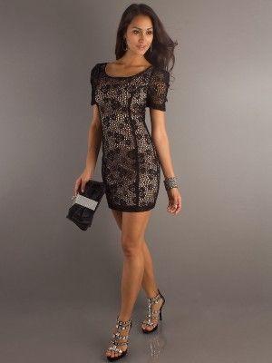 Fotos de vestidos cortos para fiestas de noche