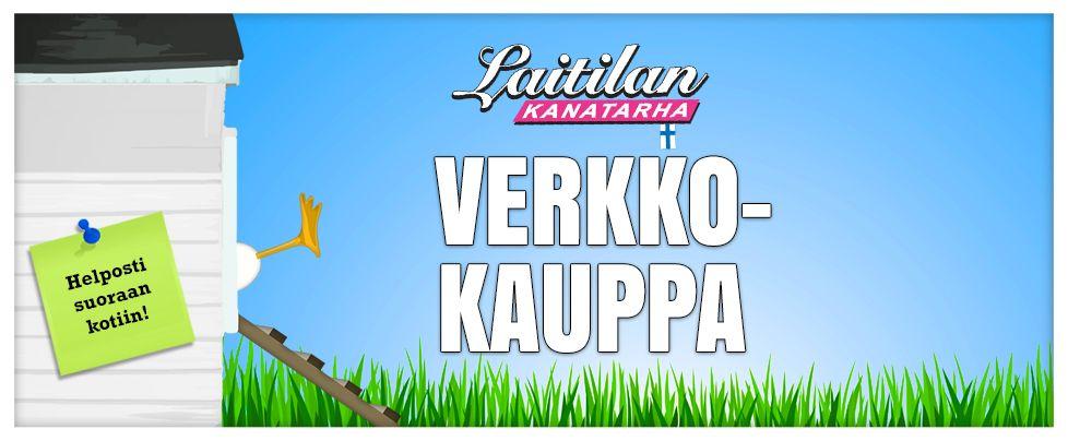 Uusi upea elintarvikkeiden verkkokauppa - kananmunat suoraan kotiin! www.laitilankanatarha.fi/verkkokauppa