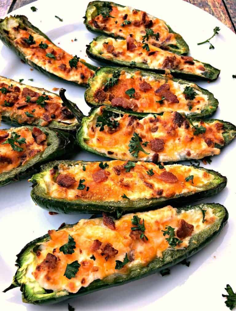 Cooked Jalapeno Popper On A White Plate Recipes Air Fryer