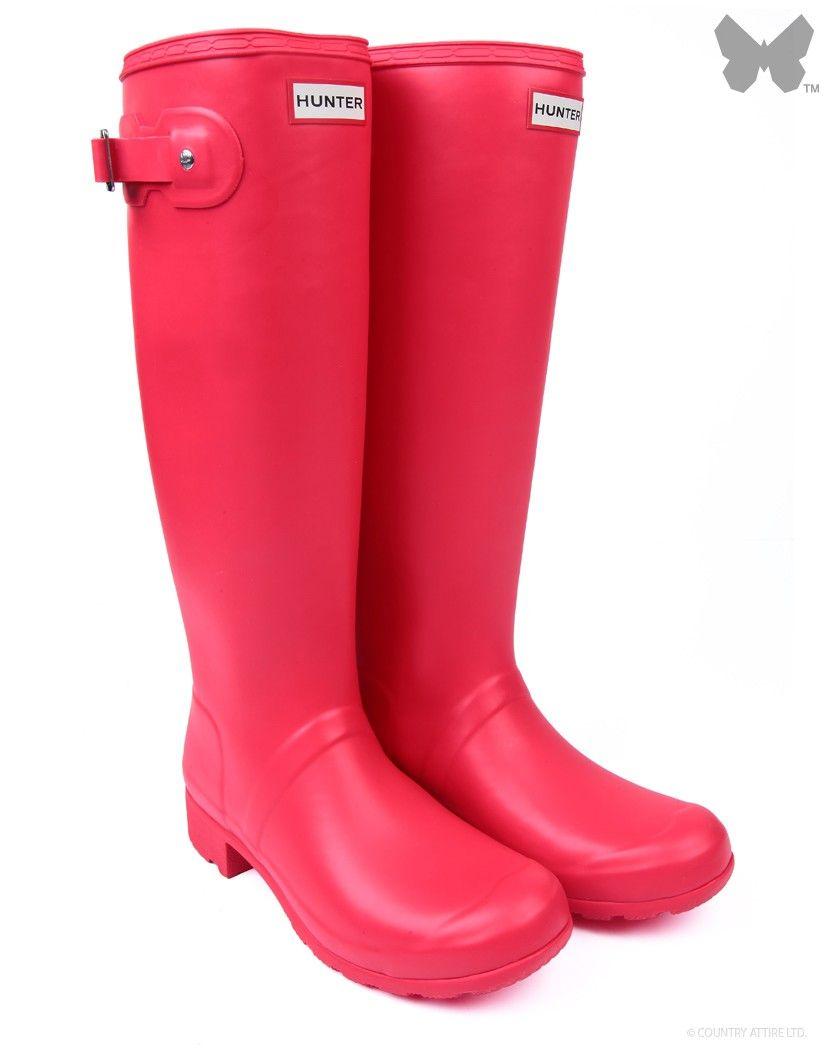 New Ladies' Hunter Original Tour Wellington Boots – Bright ...