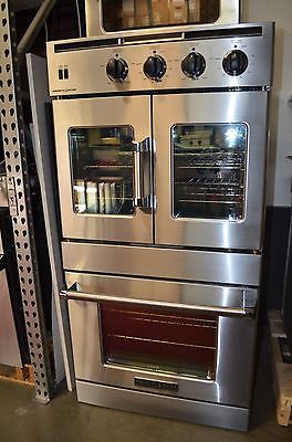 American Range Arofse230 30 Double French Chef Door Electric Wall