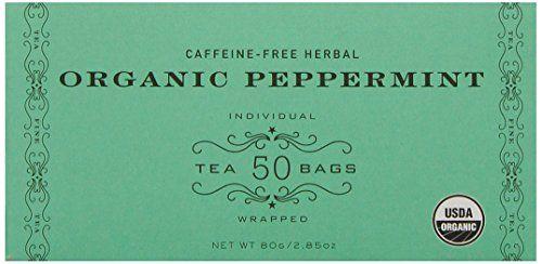 Harney & Sons Organic Peppermint Tea 80g / 2.85 oz (50 Tea Bags) Harney & Sons http://www.amazon.com/dp/B000PGSL5K/ref=cm_sw_r_pi_dp_1dKOub03HSXPK