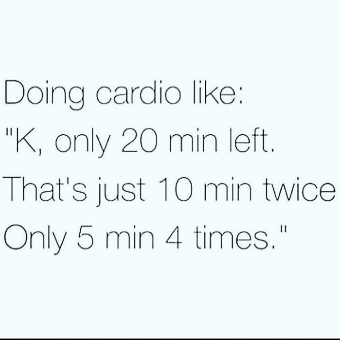 #relatable #relateablepost #cardio #cardioworkout #running #keepgoing #workout #hardwork #fitness #f...