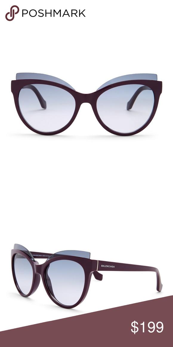 54e9e921b578 BALENCIAGA Cat Eye Sunglasses - Style  Cat eye - Size  54-18-140mm ...