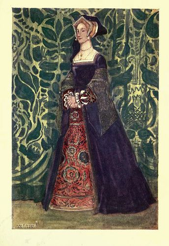 La vestimenta femenina evoluciono muy poco durante este tiempo.  vestidos hechos de piezas separadas, cintura baja, corse con varillas. Escotes bajos y amplios decorados con encaje o tiras de lino.