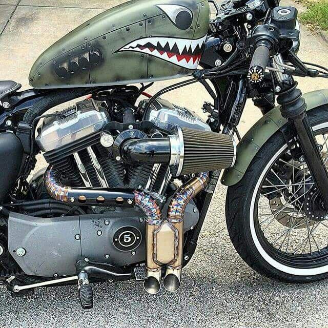 Harley Davidson | Nice Rides | Bobber motorcycle, Motorcycle
