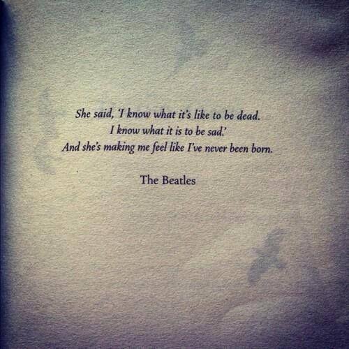 She Said She Said Beatles Lyrics The Beatles Sayings 70 million people watched that show. she said she said beatles lyrics
