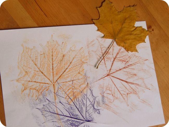 Malen nach Blättern