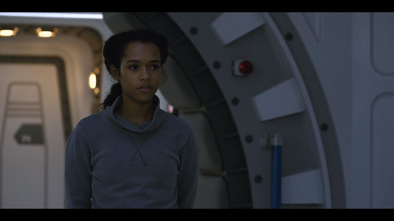 Taylor Russell As Judy Robinson In Season 1 Episode 3 Of Lost In