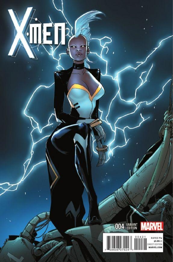 X Men 4 Goes For Old School Superheroics On Road To Battle Of The Atom Storm Marvel X Men Storm Comic
