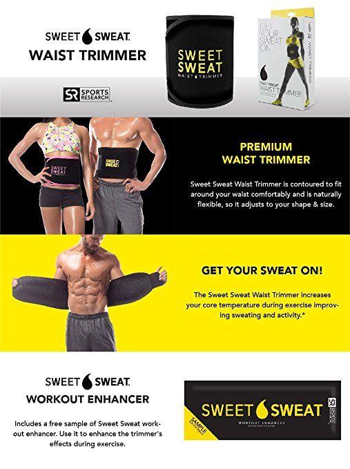 3d56616fb8 Amazon.com   Sweet Sweat Premium Waist Trimmer