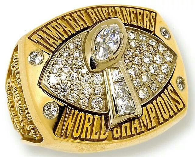 Super Bowl Xxxvii Championship Ring Super Bowl Rings Tampa Bay Buccaneers Football Tampa Bay Buccaneers