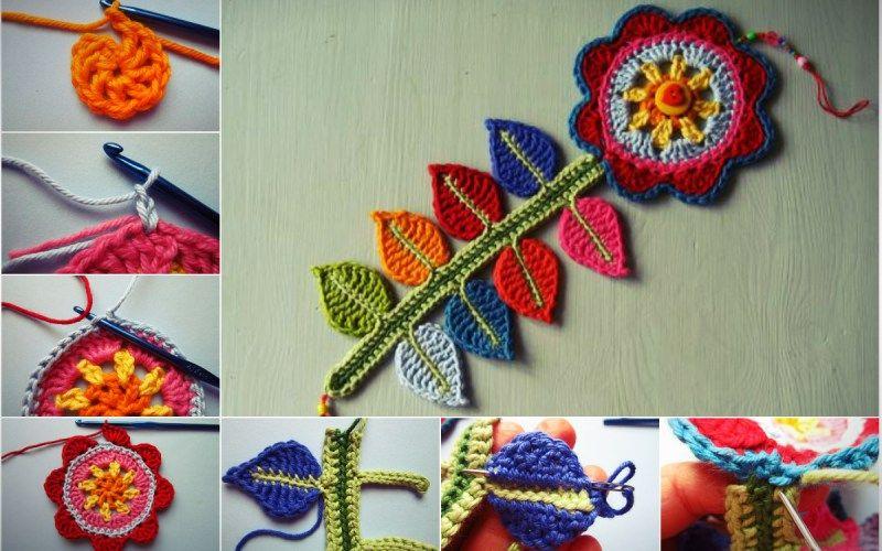 Free Pattern] Happy Flower Crochet Decoration + Tutorial | Crochet ...