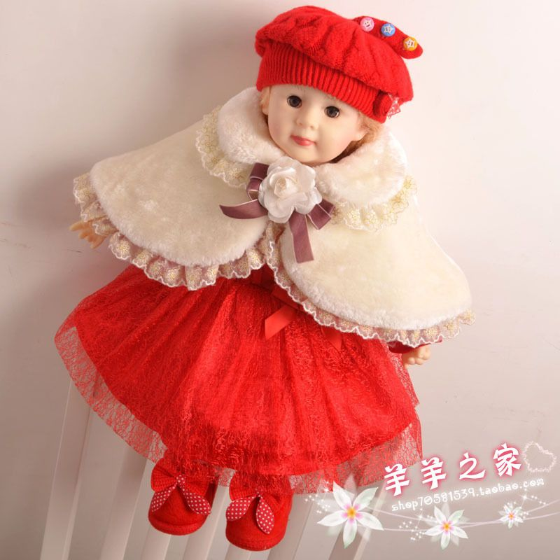 Click To Buy Winter Spring High Quality Baby Girl Christening
