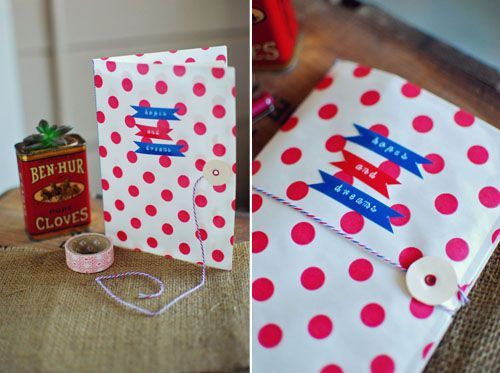bitty bag journal ... my girls would love this