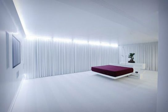 Modern Bedroom Lighting Design At Luxury Apartments Design With Cool  Lighting And Beautiful