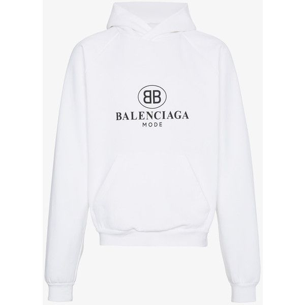 b653719967eb3 Balenciaga Bb Mode Hoodie ( 725) ❤ liked on Polyvore featuring men s  fashion